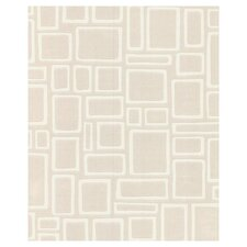 Squares Paintable Wallpaper in Beige