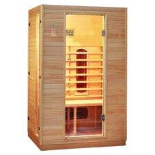 Stageneck 2 Person Infrared Sauna in Oak