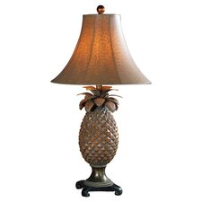 Anana Pineapple Table Lamp in Brown