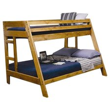 San Anselmo Twin Over Full Loft Bed in Natural