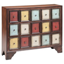 Brody 3 Drawer Chest in Brown