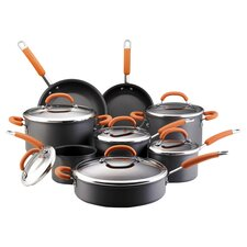 Hard-Anodized 14 Piece Cookware Set in Gray