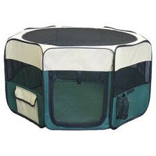 "22"" Exercise Play Dog Pen in Green"