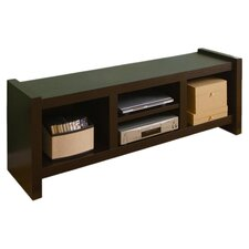 """Kwan 60"""" TV Stand in Cappuccino"""