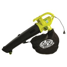 12 Amp 3-in-1 Electric Blower in Green