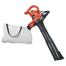 12 Amp 3-in-1 Electric Blower in Black & Orange