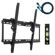 Flat Tilt TV Wall Mount in Black