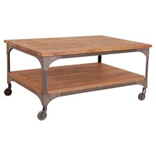 Industrial Living Coffee Table in Brown