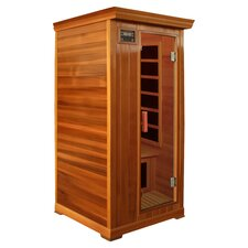 1 Person Infrared Sauna in Cherry