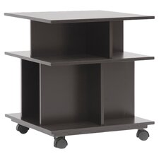 Modern Shelving Unit in Dark Brown