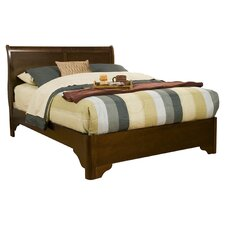 Chesapeake Sleigh Bed in Cappuccino