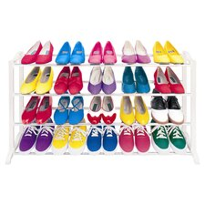 Premium Shoe Rack in White