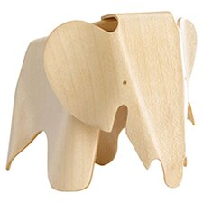 Vitra Eames Elephant Figurine in Natural