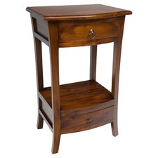 Pacific Small Telephone Table in Brown