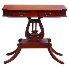 Lir Console Table in Mahogany