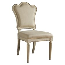 Provenance Upholstered Back Side Chair in Ivory