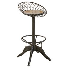 "Grayson 34"" Barstool in Grey Bass"