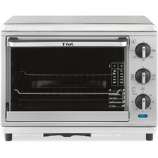 Convection Rotisserie Toaster Oven in Silver