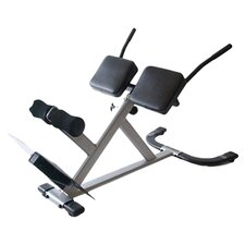 Xodus Adjustable Hyperextension Bench in Grey