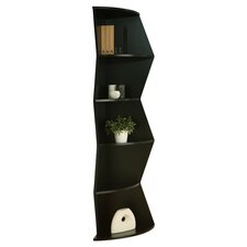 Aspen Corner Shelf in Black