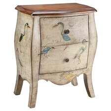 Treasures 2 Drawer Chest in Ivory