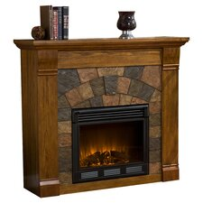 Blake Electric Fireplace in Oak