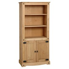 Corona Bookcase II in Pine
