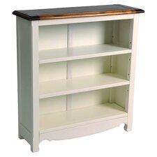 Limoges Short Bookcase in Cream & Pine