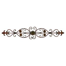 Toscana Passion Metal Wall Décor in Brown