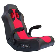 Vibe Gaming Arm Chair in Red & Black