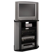 "Visions 31"" TV Stand in Black"