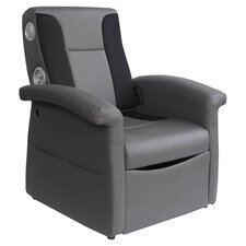 Storage Flip Sound Chair with Arms