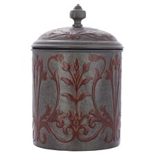 Art Nouveau Cookie Jar in Grey