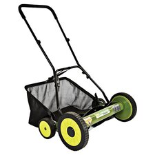 Olympic Manual Reel Mower in Lime
