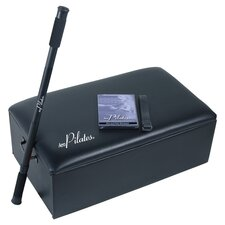 AeroPilates Box & Pole in Black