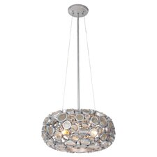 Fascination Chandelier in Silver