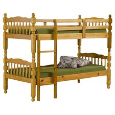 Madrid Single Bunk Bed in Pine