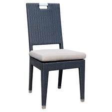 Beverly Side Chair in Black
