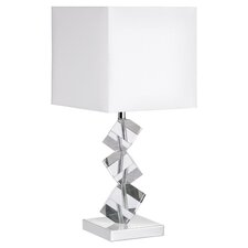 Angela Crystal Table Lamp in Polished Chrome