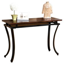 Gurley Console Table in Black & Espresso