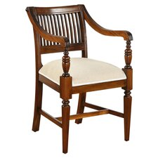 Vanessa Arm Chair in Mahogany