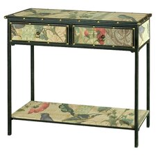 Paris Butterfly Console Table in Black