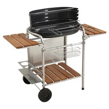 Classy Charcoal Barbecue in Black & Chrome