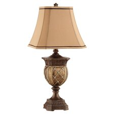 Traditions Resin Table Lamp in Gold & Bronze