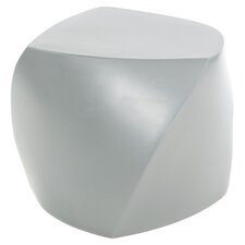 Frank Gehry Three Sided Cube in Silver