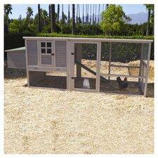 Hen House Chicken Coop in Grey