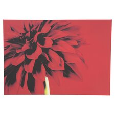 Red Dahlia Canvas Art