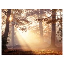 Metallic Forest Canvas Art