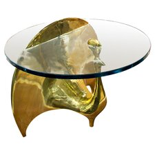 Peacock Coffee Table in Brass