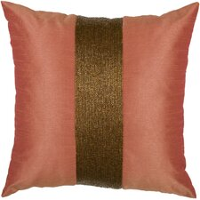 Contoy Pillow in Coral & Copper